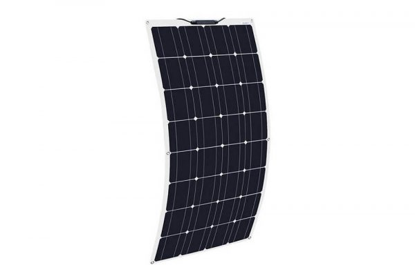 solar 7 24 130 watt sunpower monokrsital yari esnek gunes paneli 1