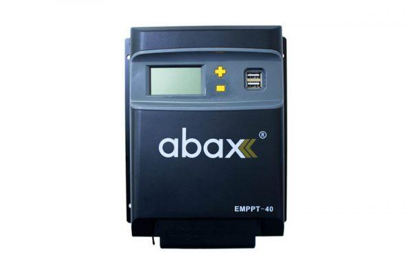 abax emmpt40 40ah 12 24volt lcd ekran mppt sarj kontrol cihazi 1