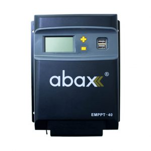 abax emmpt40 plus 40ah 12 24volt lcd ekran mppt sarj kontrol cihazi 1
