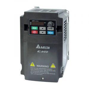 delta vfd c200 0.75kw 1hp monofaze pompa surucusu vfd007cb21a 21m 1