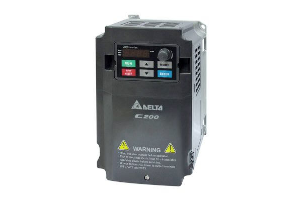 delta vfd c200 1.5kw 2hp monofaze pompa surucusu vfd015cb21a 21m 1
