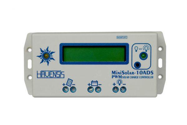 havensis minisolar 20ads 20ah 12 24 volt lcd ekran pwm sarj kontrol cihazi 1