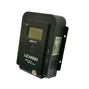 lexron 40ah 12 24volt lcd ekran mppt sarj kontrol cihazi 1
