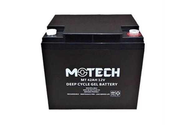 motech 12 volt 42ah solar jel aku