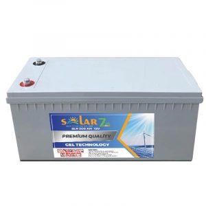 solar 7 24 12 volt 200ah jel aku