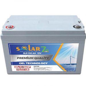 solar 7 24 12 volt 65ah jel aku
