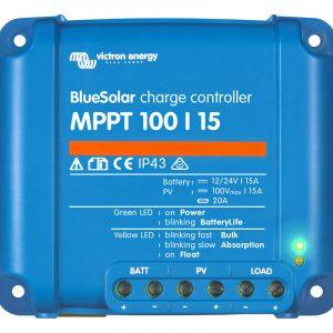 victron bluesolar mppt100 15ah 12 24 volt solar sarj kontrol cihazi 1