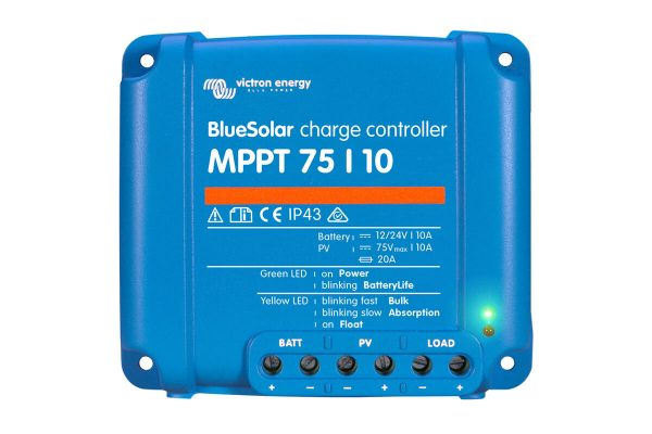 victron bluesolar mppt75 10ah 12 24 volt solar sarj kontrol cihazi 1