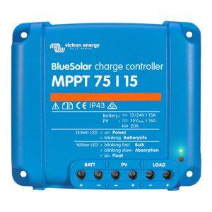 victron bluesolar mppt75 15ah 12 24 volt solar sarj kontrol cihazi 1