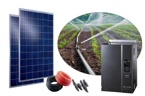 gunes enerjili tarimsal sulama sistemi 100hp trifaze
