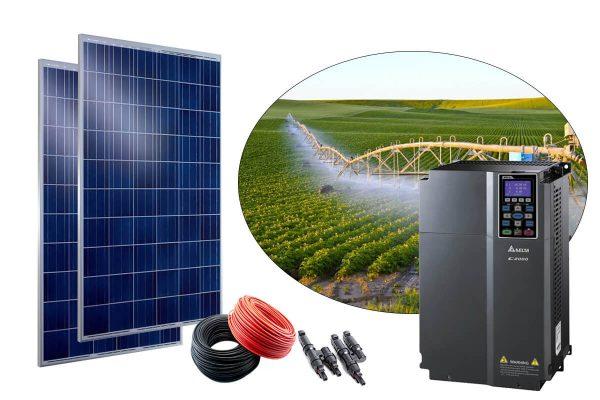 gunes enerjili tarimsal sulama sistemi 30hp trifaze