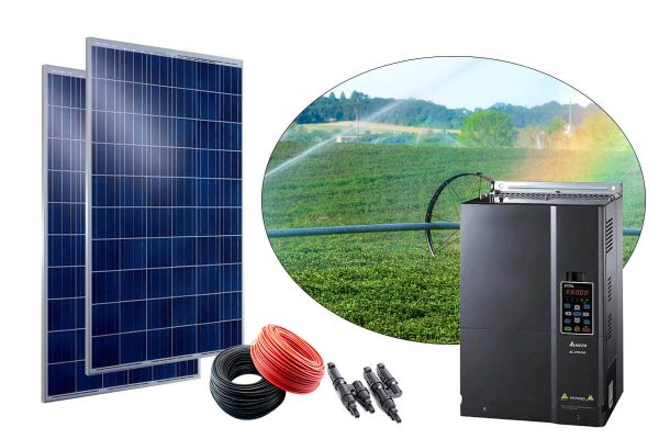 gunes enerjili tarimsal sulama sistemi 60hp trifaze